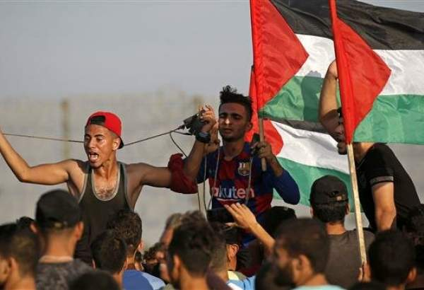 Israeli forces attack Palestinian protesters in Gaza; 49 hurt