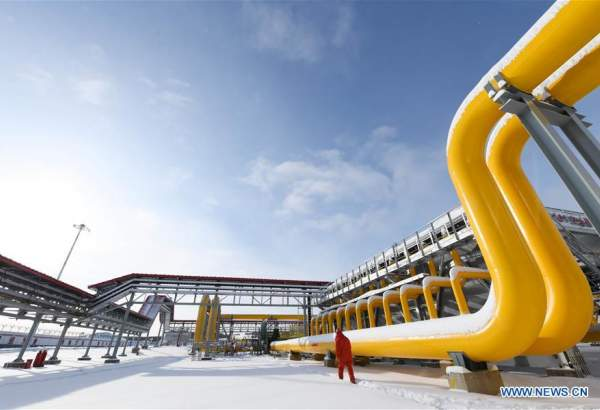 China-Russia east-route natural gas pipeline in operation