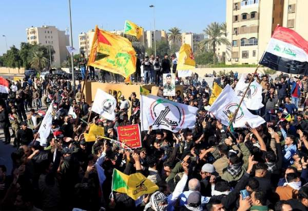 Angry protesters raid US embassy in Baghdad (photo)