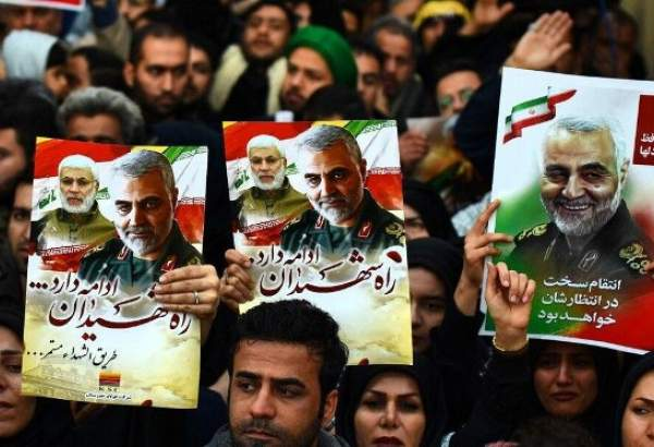 "People in Iran's Ahvaz city bid farewell with General Soleimani (photo)  <img src=""/images/picture_icon.png"" width=""13"" height=""13"" border=""0"" align=""top"">"