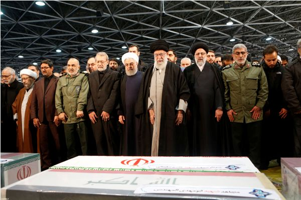 "Supreme Leader leads prayer for martyred General Qassem Soleimani (photo)  <img src=""/images/picture_icon.png"" width=""13"" height=""13"" border=""0"" align=""top"">"