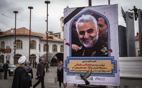 People across Iran mourn martyrdom of General Qassem Soleimani 1 (photo)