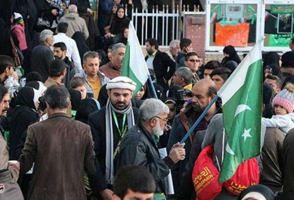 A huge number of Pakistanis from the city of Karachi came to the Iranian city of Kerman, where General Soleimani is laid to rest, to commemorate his martyrdom