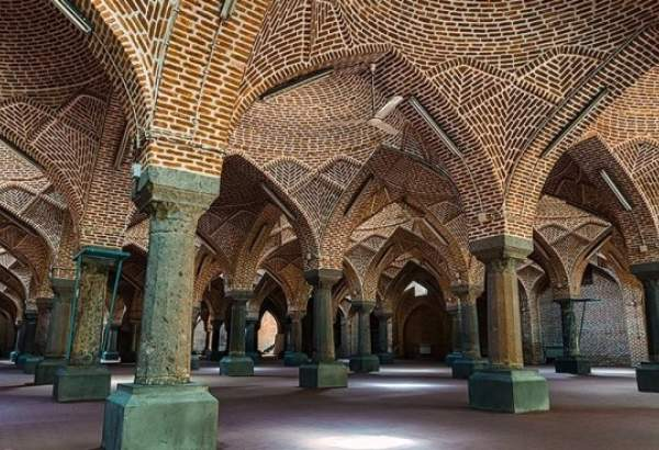 Jameh Mosque of Tabriz, Iran (photo)