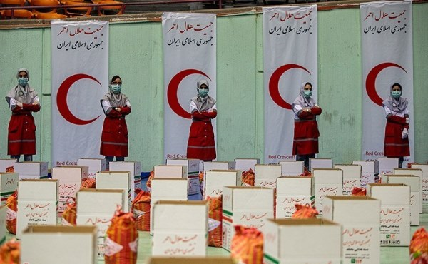Iran's Red Crescent prepares relief aid for needy families amid coronavirus (photo)