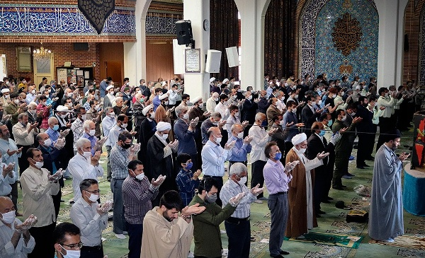 Iran's Pardis County resumes congregational prayer maintaining protective measures COVID-19 (photo)