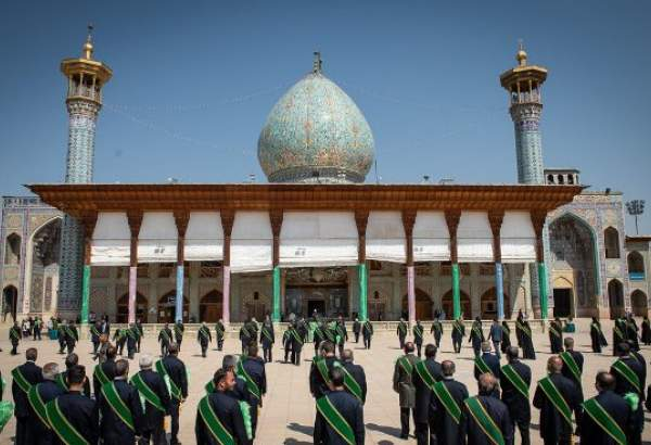 "Gratitude ritual held for reopening of Shah Cheragh holy shrine, Shiraz (photo)  <img src=""/images/picture_icon.png"" width=""13"" height=""13"" border=""0"" align=""top"">"