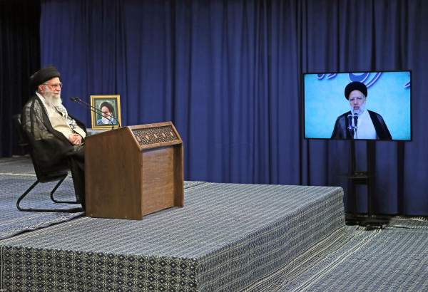 Supreme Leader attends video conference with head of Iran
