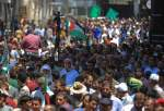 Palestinians in Khan Yunis protest against annexation, deal of century (photo)