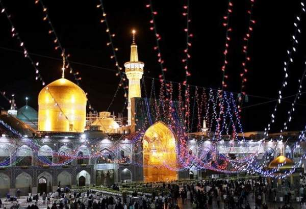 Birth anniversary of Imam Reza (AS) in his holy shrine (photo)
