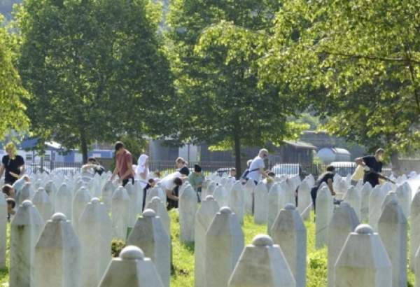 25th anniversary of Srebrenica massacre (photo)