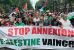 French lawmakers call for recognition of Palestine, sanctions against Tel Aviv regime