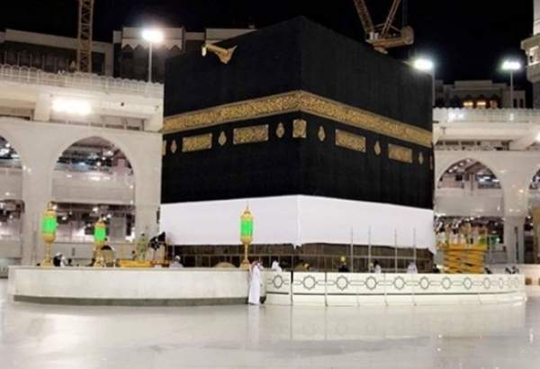 "Ka'aba clad in white on threshold of Hajj 2020 (photo)  <img src=""/images/picture_icon.png"" width=""13"" height=""13"" border=""0"" align=""top"">"