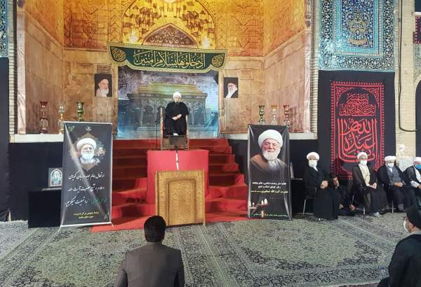Memorial for late Ayatollah Taskhiri held in Qom