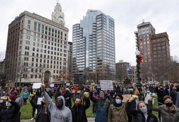 "People in Ohio protest against police shooting of black man Casey Goodson (photo)  <img src=""/images/picture_icon.png"" width=""13"" height=""13"" border=""0"" align=""top"">"