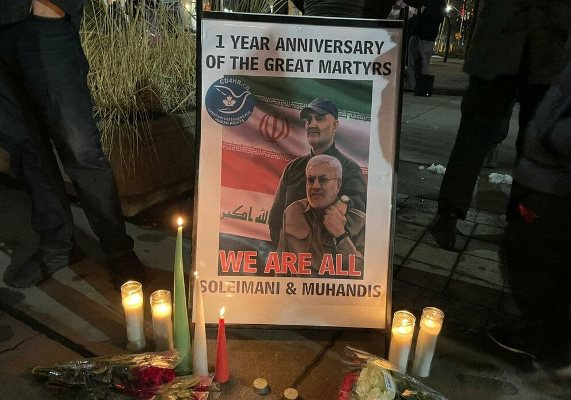Iranians in Canada mark first martyrdom anniversary of Gen. Soleimani (photo)